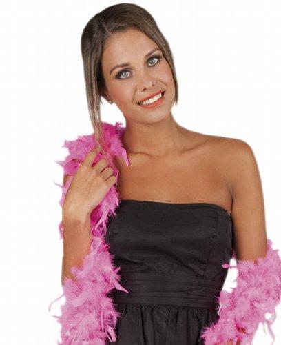 Boland 52787 - Federboa pink, 180 - Boa Rosa