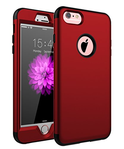 iPhone 6Plus Case, iPhone 6S Plus Fall, skylmw DREI Schicht Heavy Duty High Impact Resistant Hybrid Schutzhülle Case für iPhone 6Plus/6S Plus (nur für 14cm) (Case Iphone 6plus Hybrid)