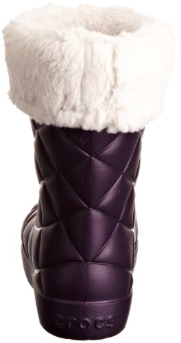 crocs Super Molded Cuffed Puff Boot 12514-02S-420, Boots femme Violet-TR-H1-19