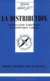 La distribution par Jean-Claude Tarondeau
