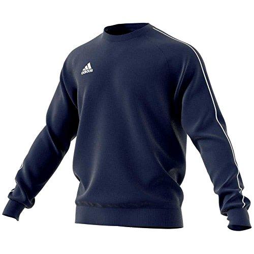 adidas Herren CORE18 Sweatshirt, Dark Blue/White, 3XL