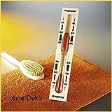 Eliga Sanduhr für Biosauna / Infrarotkabine mit rotem Sand 30 Minuten