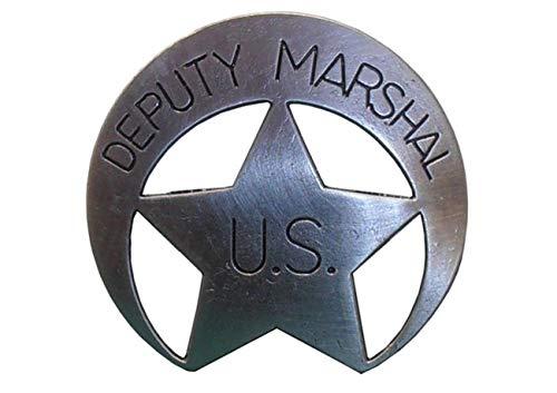 Denix US Deputy US Marshal Stern messingf. Sheriff Cowboy Western