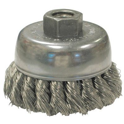 Knot Wire Cup Brush (SEPTLS06617085 - Anderson brush Knot Wire Cup Brushes For Small Angle Grinders-US amp;amp; USC Series - 17085 by Anderson Brush)