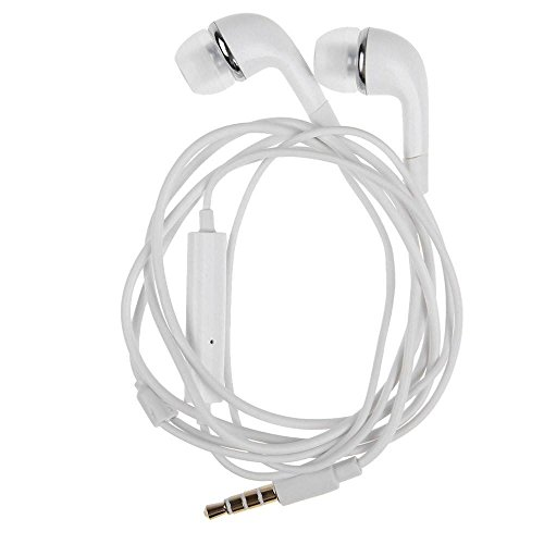 HUMAN BEINGS YR Earphones with Powerful Bass, Mic and Sound Control for All Smartphones (White)