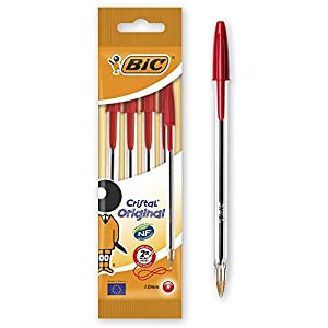 BIC Cristal Original – Pack de bolígrafos de punta redonda