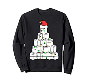 Toilet Paper Christmas Tree Shirt