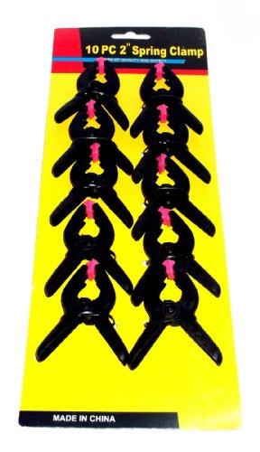 Preisvergleich Produktbild 20x Mini Leimzwingen Klemmen Leim 6x5 cm Federzwingen Zwinge Klammern Neu