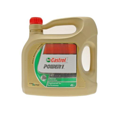 Castrol Power 1 Motorenöl 10W-30 4T 4L (englischsprachige Etiketten)