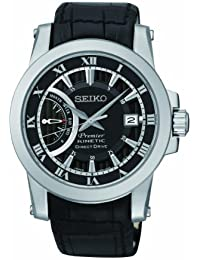 Seiko De los hombres Watch Premier Kinetic Direct Drive Reloj SRG009P2