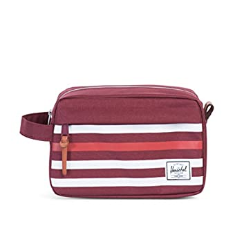 Herschel Chapter Travel Kit OFFSET Windsor Wine/Rot Kulturbeutel