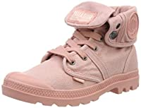Palladium Womens Lace Up Boots Pink