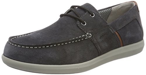 Geox U Yooking A, Chaussures Bateau Homme