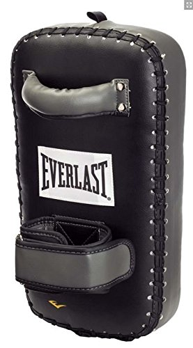 Everlast Erwachsene Boxartikel 7517 Pu Muay Thai Pad Single MMA, Black/Grey, OSFA -
