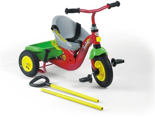 Rolly Toys rollyTrike Swing Vario Dreirad (2,5 - 5 Jahre, mit Teleskopschiebestange, verstellbarer Sitz, Luftbereifung) 091584