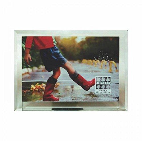 Sixtrees Manhattan abgeschrägte Glas Rahmen für Ihren 6x 4Print-4x 6 -