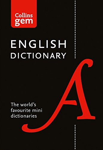 Collins English Dictionary Gem Edition: 85,000 words in a mini format (Collins Gem) por Collins Dictionaries