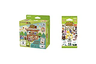 Animal Crossing: Happy Home Designer inkl. 3DS-NFC-Lese-/Schreibgerät - [3DS] + Animal Crossing amiibo-Karten Pack (Serie 1) (B015T94926)   Amazon price tracker / tracking, Amazon price history charts, Amazon price watches, Amazon price drop alerts