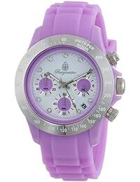 Burgmeister Damen-Armbanduhr Chronograph Quarz Silikon BM514-990C