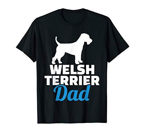 Welsh Terrier Papa T-Shirt - Terrier-damen T-shirt