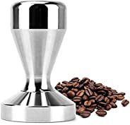 51mm Solid Iron with Chrome Plated Base Coffee Tamper for Espresso Coffee Machines Silver Color Press Coffee G