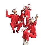 Hanomes Damen pullover, 2PCS Weihnachtsfrauen Mutter Brief Print Top + Hosen Familie Kleidung Pyjamas