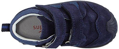 Superfit SOFTTIPPO 500325  Baby Jungen Lauflernschuhe Blau (COSMOS KOMBI 91)