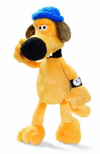 NICI 33334 - Cane di Peluche Bitzer da Shaun - Vita da Pecora, 25 Cm