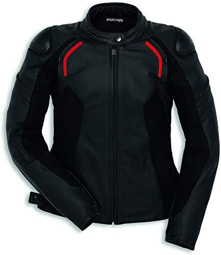 Ducati Dainese Lederjacke Stealth C2 Damen schwarz Größe 44