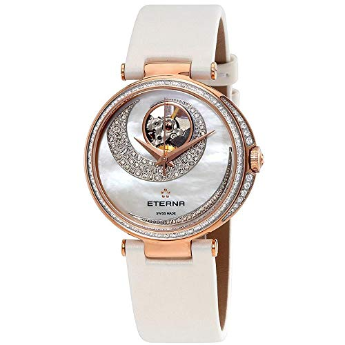 Eterna Grace Femme Diamant 34mm Automatique Montre 2943-61-69-1367