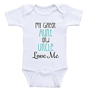 9e3889b8847 ... Heart Co Designs Great Aunt and Uncle Baby Onesies My Great Aunt and Uncle  Love Me