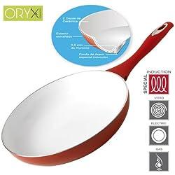 Oryx 5023005 - Padella di ceramica per induzione 28cm