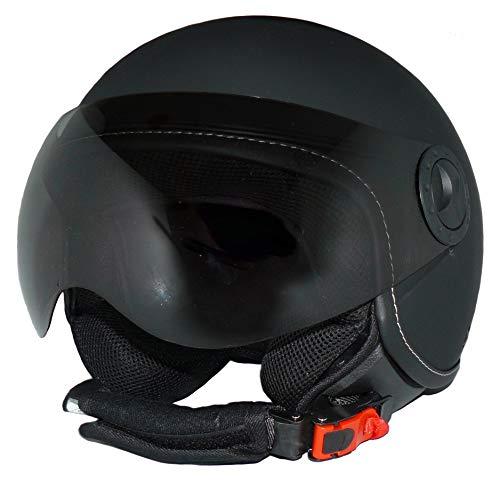Protectwear Casco de Moto con Visera Integrada