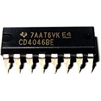 Texas Instruments CD4046BE Micropower Pll, 2.4Mhz, 16-Dip