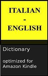 Italian - English Reader's Dictionary (English Edition)