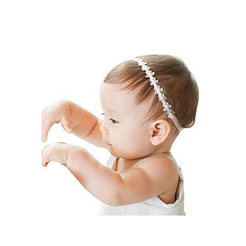 Ogquaton Baby Mädchen Strass Krone Stirnbänder Kleinkind Prinzessin Stirnband Haarschmuck