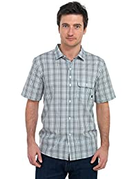 Tom Franks Checked Short Sleeved Shirt with Pocket