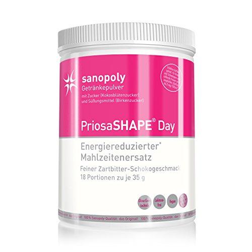 GESUND ABNEHMEN mit PriosaSHAPE® Day || Energiereduzierter Mahlzeitenersatz | mit Quinoa, Amaranth, Chiaprotein, Flohsamen, Akazienfasern und Guarana | Unterstützt bei
