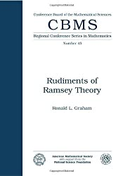 Rudiments of Ramsey Theory (Cbms Regional Conference Series in Mathematics) by Ronald L. Graham (1982-03-02)