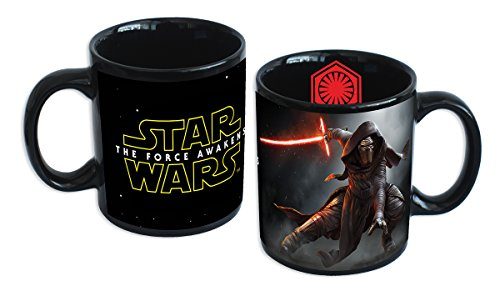 "Taza Star Wars: Episodio VII - The Force Awakens/El Despertar de la Fuerza ""Kylo Ren y Logotipo"""