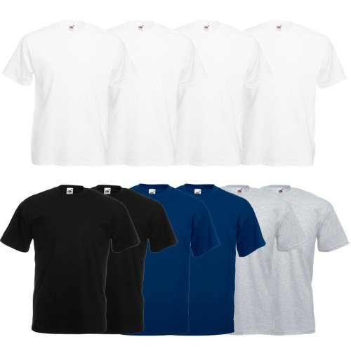 Fruit of the Loom 10 x Valueweight T-Shirt von FRUIT OF THE LOOM 61-036-0 set9
