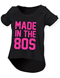 MADE IN THE 80s Ladies Drop Tail Top