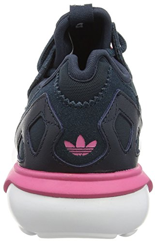 adidas Tubular Runner, Damen Hohe Sneakers Schwarz (Petrol Ink S15-St/Petrol Ink S15-St/Solar Pink)