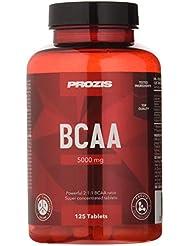 Prozis BCAA 5000 125 Cáps - Leucina 2:1:1, Isoleucina, Valina