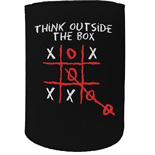 123t Stubby-Halter - Stubbie Holders Cooler Think Outside The Box - Lustiges Geburtstagsgeschenk Witzige Bierdosenflasche Koozie Coozie Geschenk -