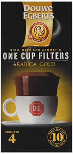 Douwe Egberts Arabica Blend One Cup Filters (Pack of 4)