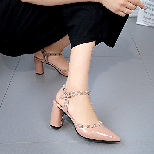 Estate moda donna sandali comodi tacchi alti,33 white 10.5cm tacchi Khaki