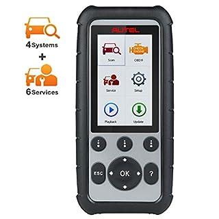 Autel MaxiDiag MD806 OBD2 Diagnosegerät Auto Code Reader für Motor, Getriebe, ABS, SRS 4 Systeme und Ölreset, EPB, SAS, DPF, BMS, Drosseln und AutoScan Funktion