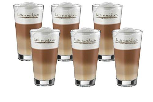 WMF Latte Macchiato Gläser Eiskaffeegläser 6 er Set