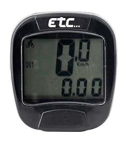 ETC Mach 5 Cardiofréquencemètre 8 vitesses Noir